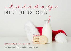 holiday mini sessions for families hillsboro oregon